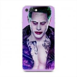 Силиконовый чехол Спокойный Джокер на iPhone 7 Plus