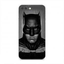 Силиконовый чехол Сердитый бэтмен на iPhone 7 Plus