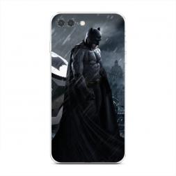 Силиконовый чехол Зов Бэтмена на iPhone 7 Plus