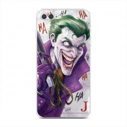 Силиконовый чехол Рисованный Джокер на iPhone 7 Plus