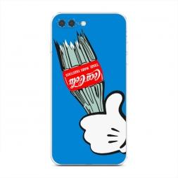 Силиконовый чехол Разбитая кола на iPhone 7 Plus
