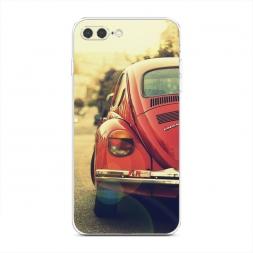 Силиконовый чехол Ретро авто на iPhone 7 Plus