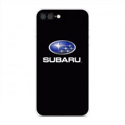 Силиконовый чехол Subaru на iPhone 7 Plus