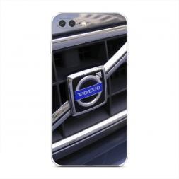 Силиконовый чехол Вольво Бампер на iPhone 7 Plus
