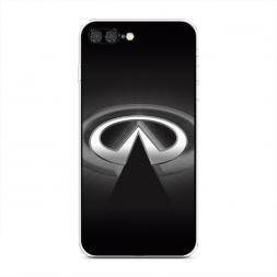 Силиконовый чехол Инфинити значок на iPhone 7 Plus