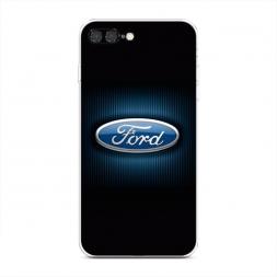 Силиконовый чехол Форд значок на iPhone 7 Plus