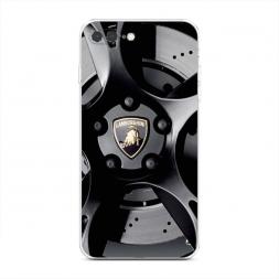 Силиконовый чехол Ламборгини диск на iPhone 7 Plus