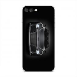 Силиконовый чехол Ауди серый на iPhone 7 Plus