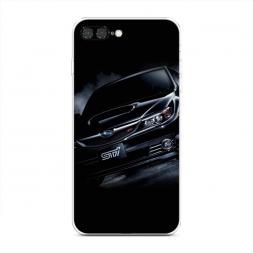 Силиконовый чехол Субару СТР на iPhone 7 Plus
