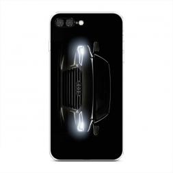 Силиконовый чехол Ауди фары на iPhone 7 Plus
