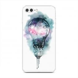 Силиконовый чехол Волшебная лампа на iPhone 7 Plus