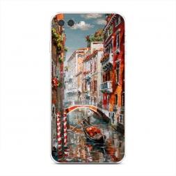 Силиконовый чехол Нарисованная Венеция на iPhone 7 Plus