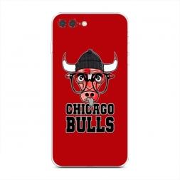 Силиконовый чехол Чикаго Буллс на iPhone 7 Plus