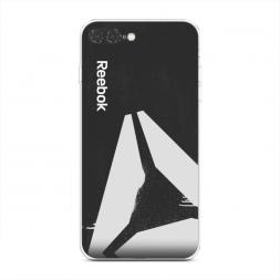 Силиконовый чехол Reebok след на iPhone 7 Plus