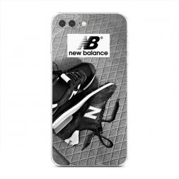 Силиконовый чехол New Balance кроссовки на iPhone 7 Plus
