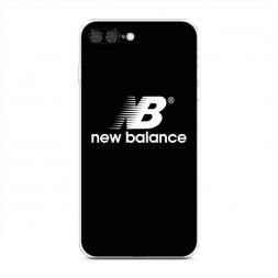 Силиконовый чехол NB на черном фоне на iPhone 7 Plus