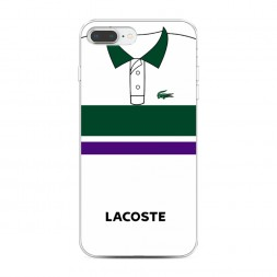 Силиконовый чехол Lacoste поло классика на iPhone 7 Plus