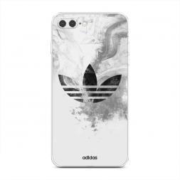 Силиконовый чехол Адидас дым на iPhone 7 Plus