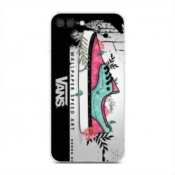Силиконовый чехол Vans Art на iPhone 7 Plus