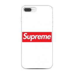 Силиконовый чехол Supreme классика на iPhone 7 Plus