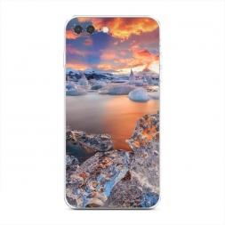 Силиконовый чехол Ледники на iPhone 7 Plus
