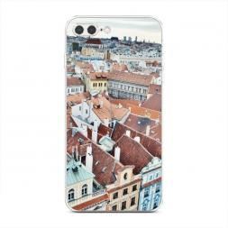 Силиконовый чехол Прага на iPhone 7 Plus
