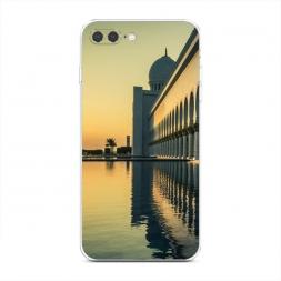 Силиконовый чехол Мечеть Абу Даби на iPhone 7 Plus