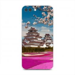 Силиконовый чехол Япония цветы на iPhone 7 Plus