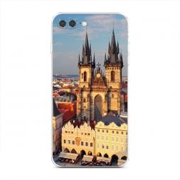 Силиконовый чехол Прага готический собор на iPhone 7 Plus