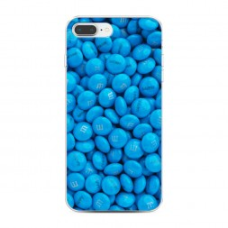 Силиконовый чехол Конфеки happy на iPhone 7 Plus