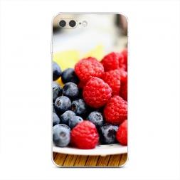 Силиконовый чехол Сочные ягоды на iPhone 7 Plus