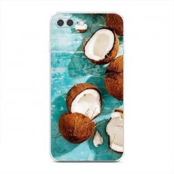 Силиконовый чехол Разбитые кокосы на iPhone 7 Plus