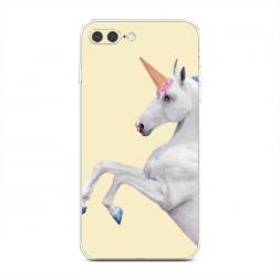 Силиконовый чехол Единорог на iPhone 7 Plus