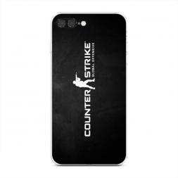 Силиконовый чехол CS logo на iPhone 7 Plus
