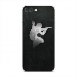 Силиконовый чехол Jump shot на iPhone 7 Plus