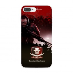 Силиконовый чехол Operation bloodhound на iPhone 7 Plus
