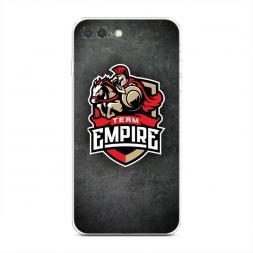Силиконовый чехол Team empire dota2 металл на iPhone 7 Plus