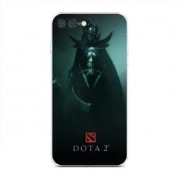 Силиконовый чехол Phantom assassin из темноты на iPhone 7 Plus