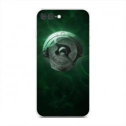 Силиконовый чехол Аегис зеленый на iPhone 7 Plus