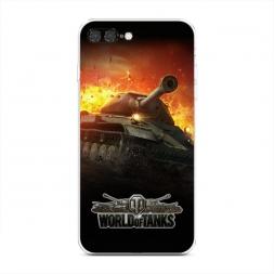 Силиконовый чехол К бою готов на iPhone 7 Plus