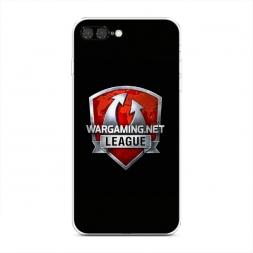 Силиконовый чехол Варгейминг лига на iPhone 7 Plus