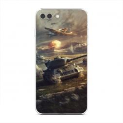 Силиконовый чехол Поддержка авиации на iPhone 7 Plus