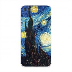 Силиконовый чехол Ван Гог Звездная ночь на iPhone 7 Plus