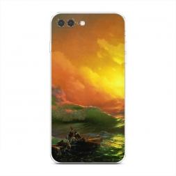 Силиконовый чехол Девятый вал на iPhone 7 Plus
