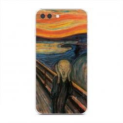 Силиконовый чехол Крик на iPhone 7 Plus