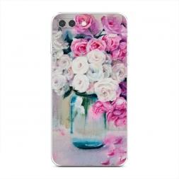 Силиконовый чехол Цветы акварель на iPhone 7 Plus