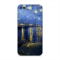 Силиконовый чехол Звездная ночь над Роной на iPhone 7 Plus