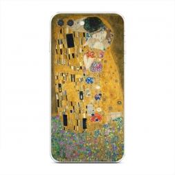 Силиконовый чехол Поцелуй Гюстава Климта на iPhone 7 Plus