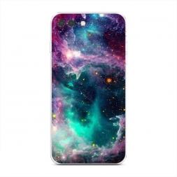 Силиконовый чехол Звездные облака на iPhone 7 Plus