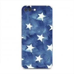 Силиконовый чехол Звезды акварель на iPhone 7 Plus